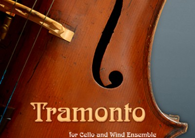 Tramonto (Cello and Wind Ensemble)