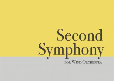 Second Symphony for Wind Orchestra